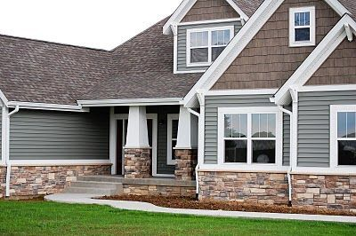 Siding color trends home example