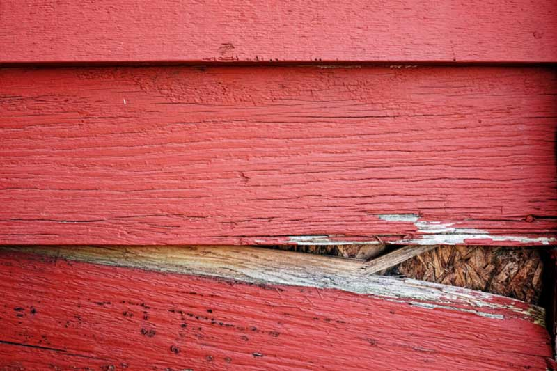 Replace your rotten wood siding